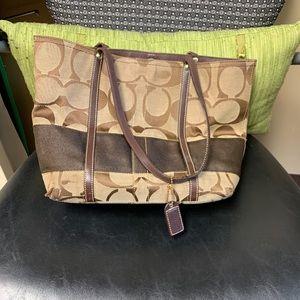 Coach bag, used.